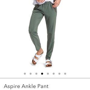 Dark Purple Athleta Aspire Ankle Pants
